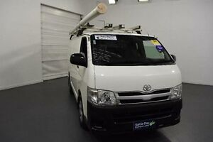2011 Toyota Hiace KDH201R MY11 Upgrade LWB White 5 Speed Manual Van Moorabbin Kingston Area Preview