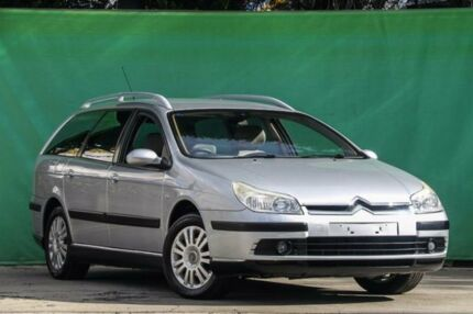 2007 Citroen C5 MY06 SX Estate 16V Blue 4 Speed Sports Automatic Wagon Ringwood East Maroondah Area Preview