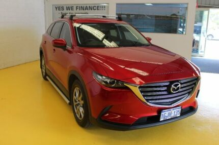2016 Mazda CX-9 TC Touring SKYACTIV-Drive i-ACTIV AWD Red 6 Speed Sports Automatic Wagon