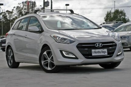 2015 Hyundai i30 GD Active Tourer Silver 6 Speed Sports Automatic Wagon Hillcrest Logan Area Preview