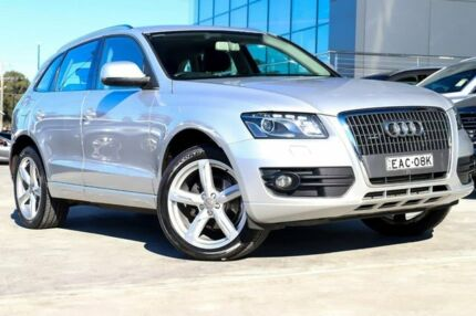 2009 Audi Q5 8R TFSI S Tronic Quattro Silver 7 Speed Sports Automatic Dual Clutch Wagon Liverpool Liverpool Area Preview