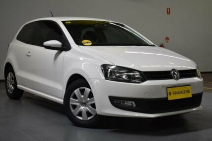 2011 Volkswagen Polo 6R MY12 Trendline DSG Candy White 7 Speed Sports Automatic Dual Clutch Brooklyn Brimbank Area Preview