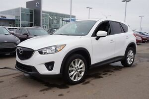 2014 Mazda CX-5 GT Navigation (GPS),  Leather,  Sunroof,  Heated