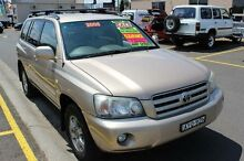 2005 Toyota Kluger MCU28R Upgrade CV (4x4) Fawn 5 Speed Automatic Wagon South Windsor Hawkesbury Area Preview