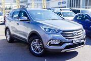 2017 Hyundai Santa Fe DM3 MY17 Active Silver 6 Speed Sports Automatic Wagon Kings Park Blacktown Area Preview