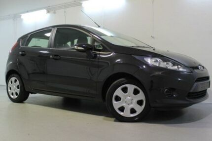 2012 Ford Fiesta  Black Sports Automatic Dual Clutch Hatchback Launceston 7250 Launceston Area Preview