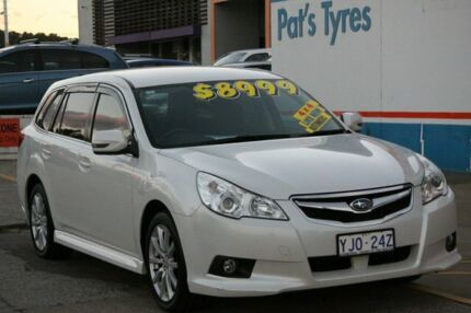 2011 Subaru Liberty MY12 2.5I Premium White Continuous Variable Wagon Fyshwick South Canberra Preview