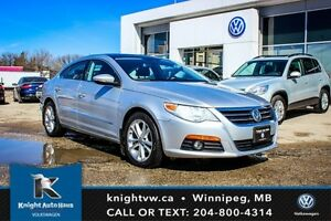 2012 Volkswagen Passat CC Sportline w/ Sunroof/Leather