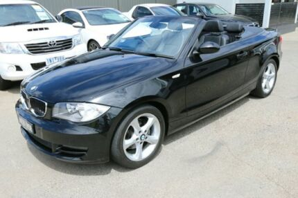 2009 BMW 120i E88 MY09 Black 6 Speed Automatic Convertible Cheltenham Kingston Area Preview