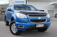 2013 Holden Colorado RG MY13 LT Crew Cab Blue 6 Speed Sports Automatic Utility Maroochydore Maroochydore Area Preview