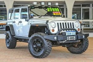 2011 Jeep Wrangler JK MY2010 Unlimited Sport Silver 6 Speed Manual Softtop