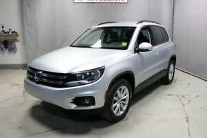 2017 Volkswagen Tiguan AWD WOLFSBURG Leather,  Heated Seats,  Bl