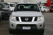 2013 Nissan Navara D40 S6 MY12 ST 4x2 Silver 6 Speed Manual Utility Frankston Frankston Area Preview