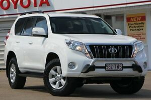 2014 Toyota Landcruiser Prado KDJ150R MY14 GXL Glacier 5 Speed Sports Automatic Wagon Woolloongabba Brisbane South West Preview