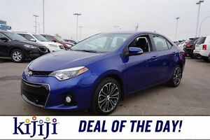 2014 Toyota Corolla S Leather,  Sunroof,  Heated Seats,  Backup