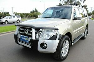 2012 Mitsubishi Pajero NW MY12 Exceed Gold 5 Speed Sports Automatic Wagon West Footscray Maribyrnong Area Preview