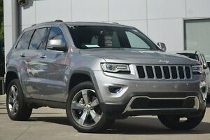 2015 Jeep Grand Cherokee WK MY15 Limited Billet Silver 8 Speed Sports Automatic Wagon Waitara Hornsby Area Preview