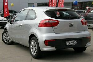 2015 Kia Rio UB MY15 S Silver 4 Speed Automatic Hatchback Waitara Hornsby Area Preview