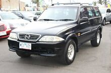 1998 Daewoo Musso VERS 2 Black 4 Speed Automatic Wagon Heatherton Kingston Area Preview