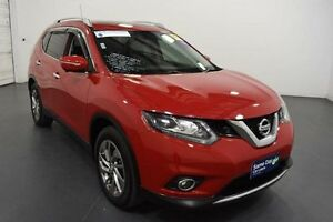 2015 Nissan X-Trail T32 TI (4x4) Red Continuous Variable Wagon Moorabbin Kingston Area Preview
