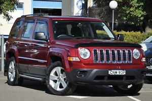 2013 Jeep Patriot MK MY12 Sport (4x2) Red 6 Speed CVT Auto Sequential Wagon Dee Why Manly Area Preview
