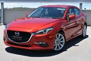 2016 Mazda 3 BM5238 SP25 SKYACTIV-Drive GT Red 6 Speed Sports Automatic Sedan Gateshead Lake Macquarie Area Preview