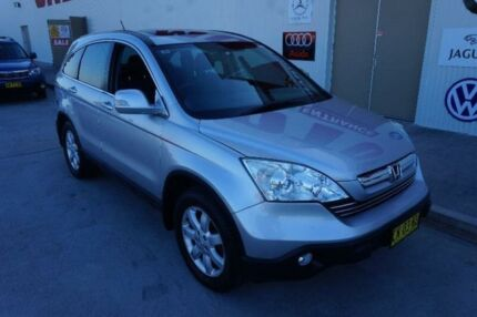 2008 Honda CR-V RE MY2007 Luxury 4WD Silver 5 Speed Automatic Wagon Elderslie Camden Area Preview