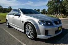 2008 Holden Commodore VE MY08 SV6 Silver 5 Speed Automatic Sedan Wetherill Park Fairfield Area Preview