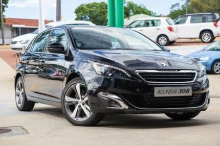 2014 Peugeot 308 T9 Allure Black 6 Speed Sports Automatic Hatchback Myaree Melville Area Preview