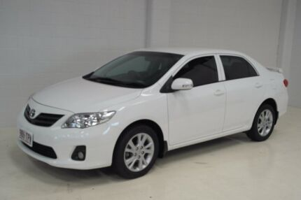 2013 Toyota Corolla ZRE152R Ascent White 4 Speed Automatic Sedan