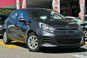 2016 Kia Rio UB MY16 S Grey 4 Speed Sports Automatic Hatchback Invermay Launceston Area Preview