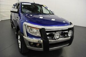 2014 Ford Ranger PX XLT Double Cab Blue Sports Automatic Utility Moorabbin Kingston Area Preview