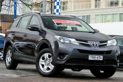 2014 Toyota RAV4 ASA44R MY14 Upgrade GX (4x4) Grey 6 Speed Automatic Wagon Waitara Hornsby Area Preview