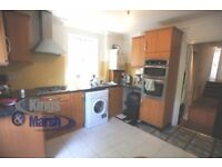 Louisville Rd, 3 double bed garden flat to let in Balham,furnished,split level,separate kitchen