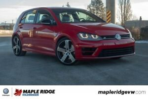 2016 Volkswagen Golf R 4MOTION BC CAR, GREAT CONDITION, MANUAL