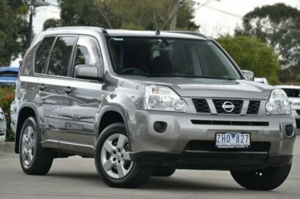 2010 Nissan X-Trail Grey Constant Variable Wagon Nunawading Whitehorse Area Preview