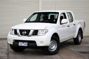2013 Nissan Navara D40 S8 RX White 5 Speed Automatic Utility Seaford Frankston Area Preview