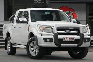 2010 Ford Ranger PK XLT Super Cab White 5 Speed Manual Utility Bray Park Pine Rivers Area Preview