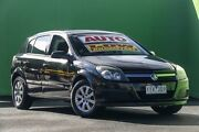 2006 Holden Astra AH MY06 CD Black 4 Speed Automatic Hatchback Ringwood East Maroondah Area Preview