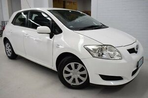 2007 Toyota Corolla ZRE152R Ascent White 6 Speed Manual Hatchback West Launceston Launceston Area Preview