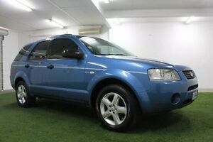 2005 Ford Territory SX TS AWD Blue 4 Speed Sports Automatic Wagon Moonah Glenorchy Area Preview