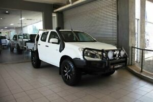 2014 Isuzu D-MAX TF MY15 LS-M HI-Ride (4x4) White 5 Speed Automatic Crew Cab Utility