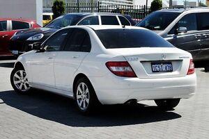 2008 Mercedes-Benz C200 Kompressor W204 Classic White 5 Speed Sports Automatic Sedan Osborne Park Stirling Area Preview