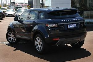 2012 Land Rover Range Rover Evoque L538 MY12 TD4 CommandShift Pure Baltic Blue 6 Speed Osborne Park Stirling Area Preview