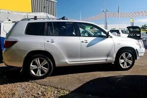 2009 Toyota Kluger GSU45R KX-S AWD Silver 5 Speed Sports Automatic Wagon Gympie Gympie Area Preview