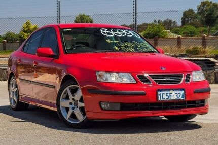 2007 Saab 9-3 440 MY2007 Linear TiD Red 6 Speed Sports Automatic Sedan Kenwick Gosnells Area Preview