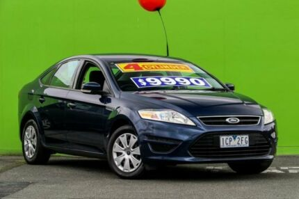 2011 Ford Mondeo MC LX Blue 6 Speed Sports Automatic Hatchback Ringwood East Maroondah Area Preview
