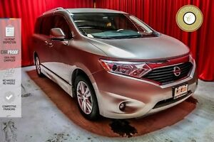2012 Nissan Quest LEATHER INTERIOR! SUNROOF! PUSH BUTTON START!