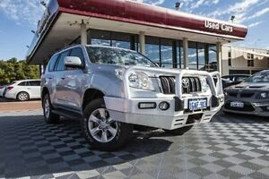 2010 Toyota Landcruiser Prado KDJ150R GXL Silver 5 Speed Sports Automatic Wagon Alfred Cove Melville Area Preview