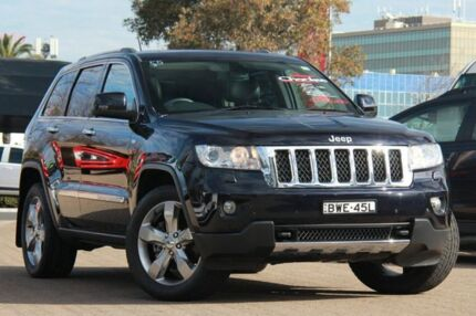 2011 Jeep Grand Cherokee WH Overland (4x4) Blackberry 5 Speed Automatic Wagon Rosebery Inner Sydney Preview